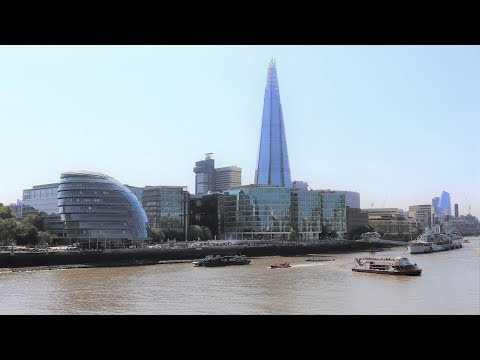 London - The Shard Tower Built In 2013