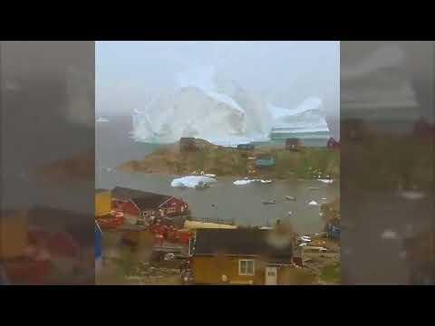 Timelapse Iceberg Innaarsuit, Greenland