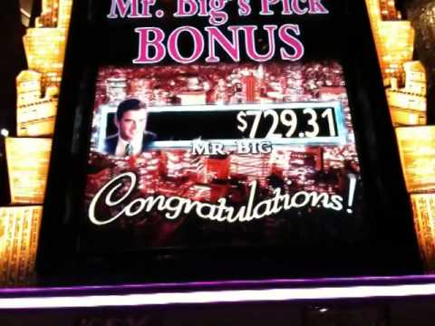 sex and the city slot machine mr. big win