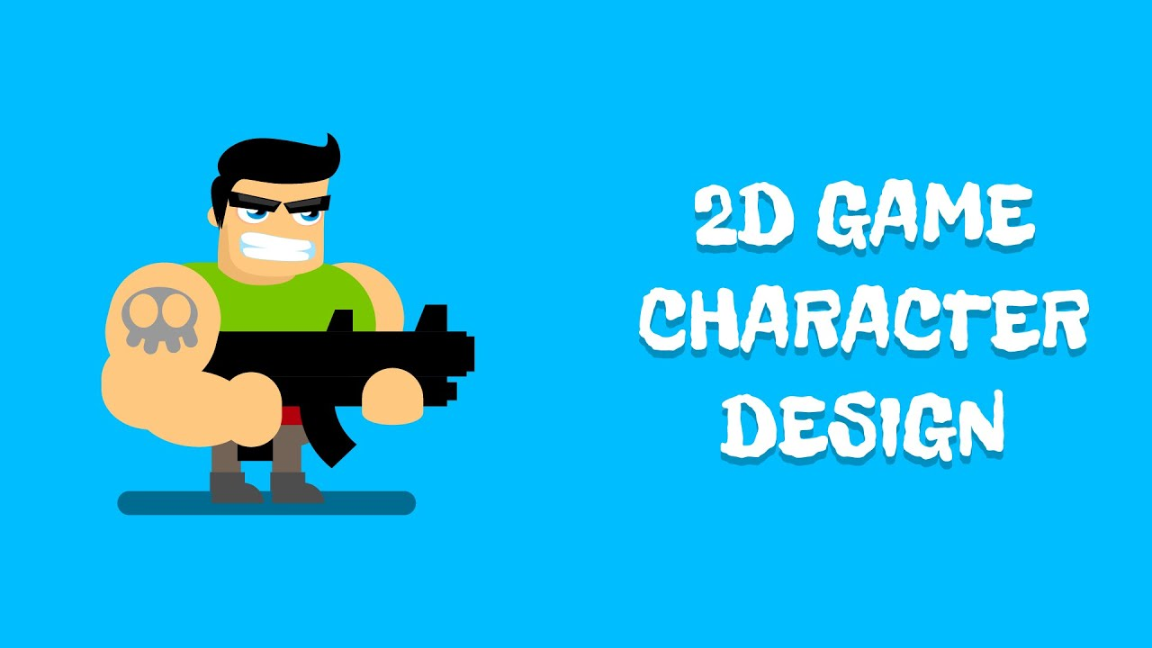 2d game character design - youtube