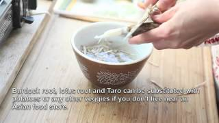 How To Make Root Vegetables Winter Miso Soup Vol. 2  By Vegetable Gohan