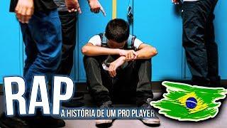 RAP - A HISTÓRIA DE UM PRO PLAYER | FREE FIRE - PIUZINHO