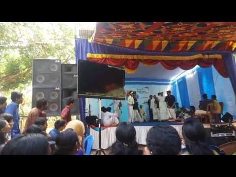 Oppana by Anjooranzz..kalinga arts fests 2k17,ihrd pazhayannur