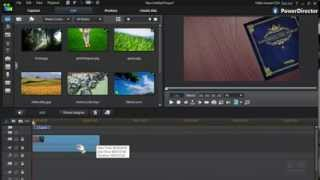 How to Make beautiful Slideshows with Theme Designer in PowerDirector 12 thumbnail