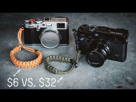 $6 DIY Camera Strap vs $32 Camera Strap