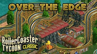Over the Edge | Africa - Victoria Falls | Rollercoaster Tycoon Classic | Wacky Worlds | Let's Play