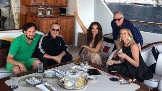 thalía celebra el cumpleaños de su esposo tommy mottola en compañía de sus amigos