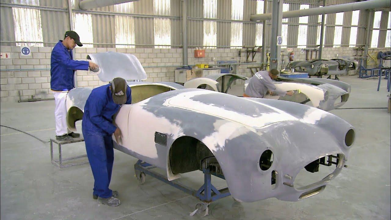 Comment c'est fait, voitures de rêve: la Superformance Mark III