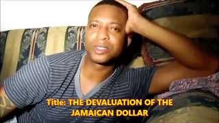 The Jamaican Dollar is slipping Fast