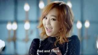 Watch Hyorin Red Lipstick video