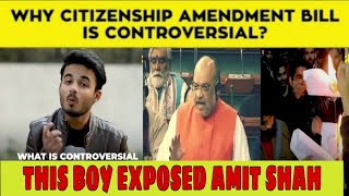 BJP EXPOSED | Amit shah Citizenship Amendment Bill expose | rajya sabha | lokshabha | big boss 13 ep