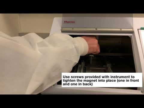 Thermo Fisher KingFisher Duo Prime System: How To Change Magnet Head