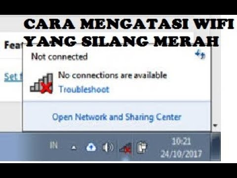 cara mengatasi wifi no connection are available.
