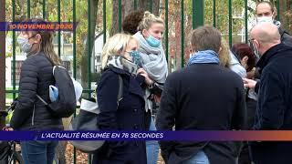 Yvelines | L'actu de la semaine en 78 secondes (du 9 au 13 novembre 2020)