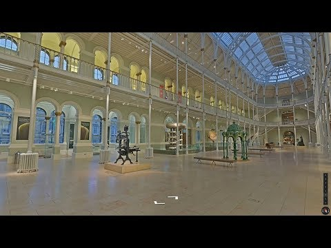 Tour the National Museum of Scotland on Google StreetView