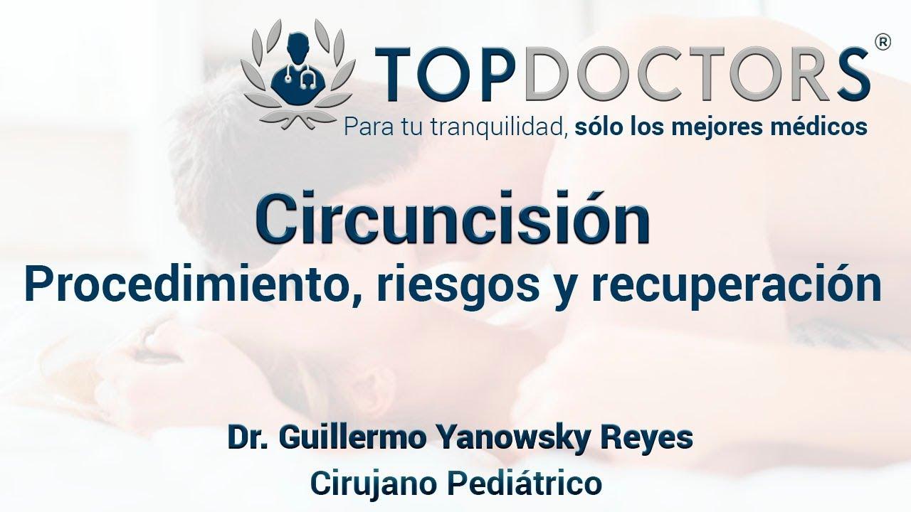 De cirugia circuncision de riesgos