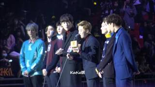 [fancam] 151202 Exo Album of the year @Mnet Asian Music Awards MAMA 2015
