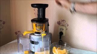 Шнековая соковыжималка Kitfort kt-1101 (апельсиновый сок)