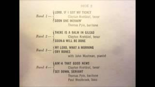 Gambar cover Deep River - Robert Shaw Chorale (Spirituals) 1958
