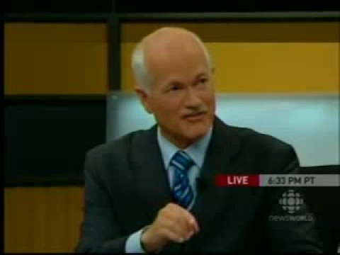 Jack Layton wins on debate night