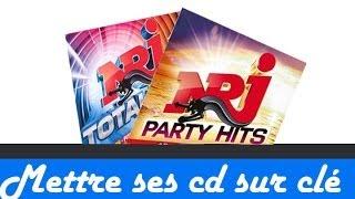 Mettre la musique d'un CD sur son ordinateur ou une clé USB