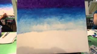 McArt A La Cart Painting Party, July 8, 2015