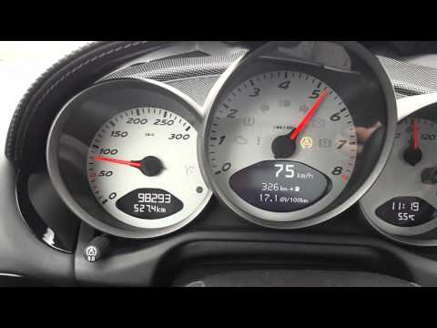 Porsche Cayman S 987 Acceleration 0-200 km/h