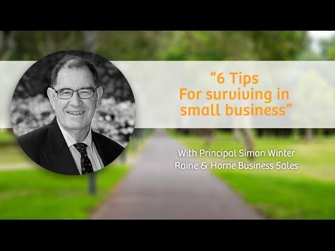 6 basic steps how to survive in small business