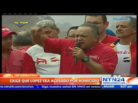 Chavismo busca responsabilizar a Leopoldo López por muerte de 43 personas en manifestaciones de 2014