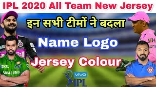 IPL 2020 : These Teams Change Their Name Logo And Jersey Colour