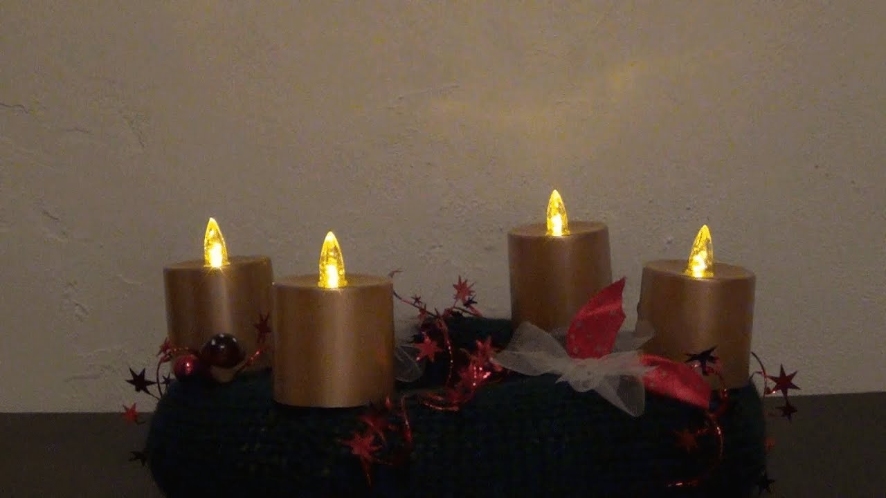 Adventskranz Stricken Youtube