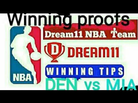 DEN VS MIA ||DENVER NUGGETS vs Miami Heat #dream11 #NBA # Prediction 12/02/2019