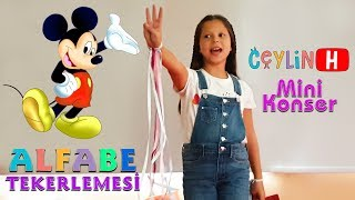 ceylin h mini konser alfabe tekerlemes nursery rhymes super simple educational kids songs