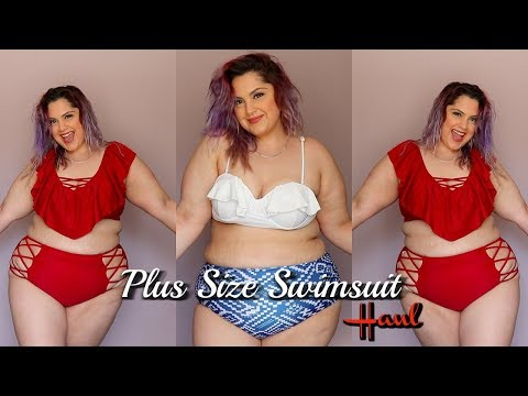 Affordable Plus Size Swimsuits Haul