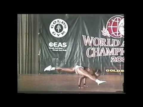 WM ANAC 2001 Sortsaerobics Ind Ferm. Marcela Lopes(Brasil)