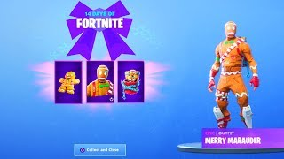 The New FREE CHRISTMAS GIFTS in Fortnite..