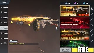 Rules of Survival - HOW TO GET FREE SOULFEAST THOMPSON CAMO!