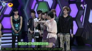 Download [SUB ESP] 120609 EXO-M @ Happy Camp full MP3 song and Music Video