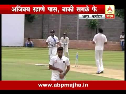 Khel Majha : Alur : Karnataka : Ajinkya Rahane passed in Anil Kumble's test