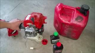 Tự Học Sửa Máy Cắt Cỏ Tập 3 ( how to fix grass trimmer with gas problem part 3) Video # 106