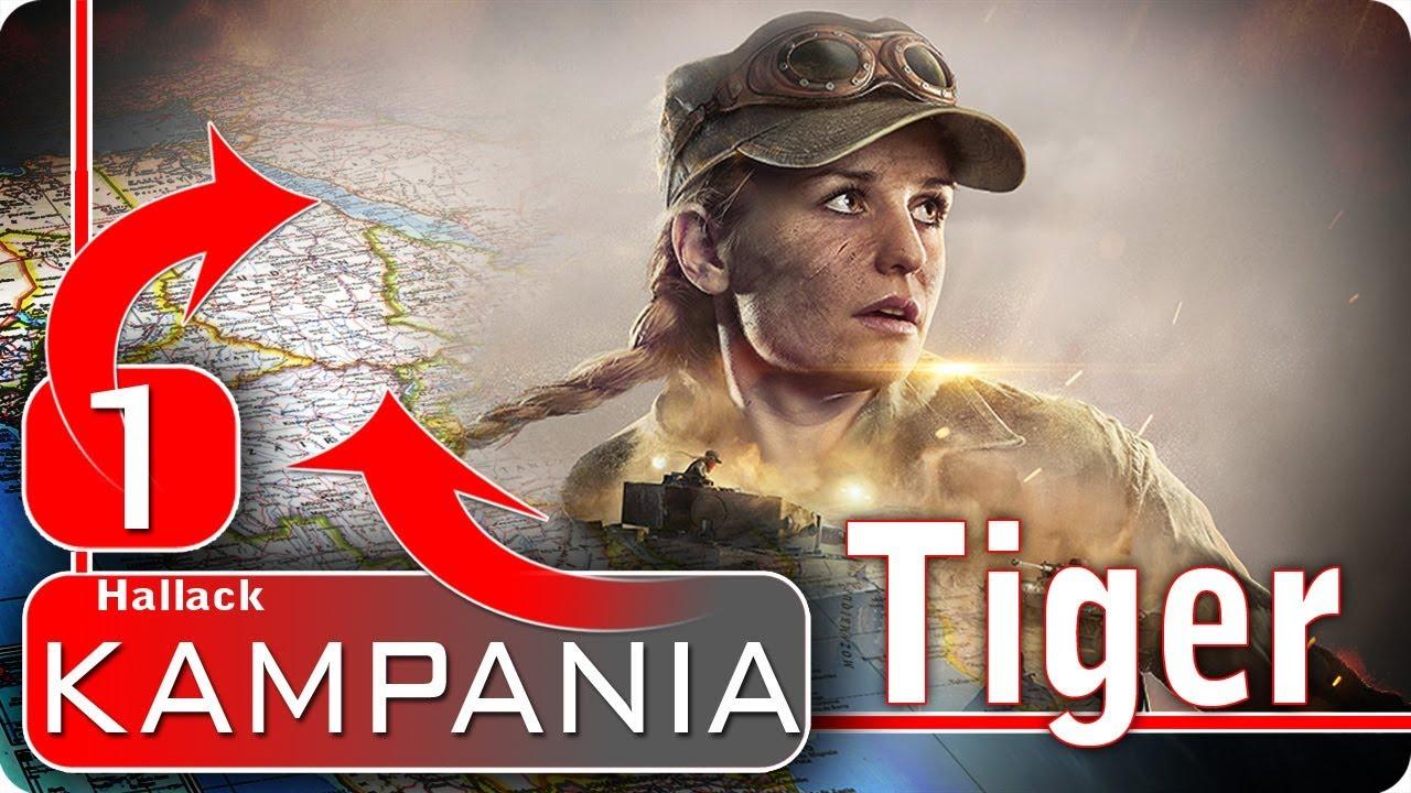 Ukraść Tygrysa – kampania fabularna odc 1 – World of Tanks