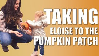Fall Clothing Haul + Taking Baby to the Pumpkin Patch | Vlog