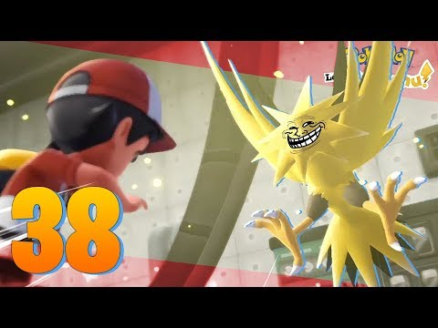 Pokémon Lets Go Ep.38 - COMO NO CAPTURAR A ZAPDOS