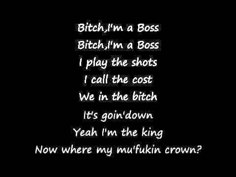 Meek Mill ft Rick Ross   I'm a Boss   Lyrics