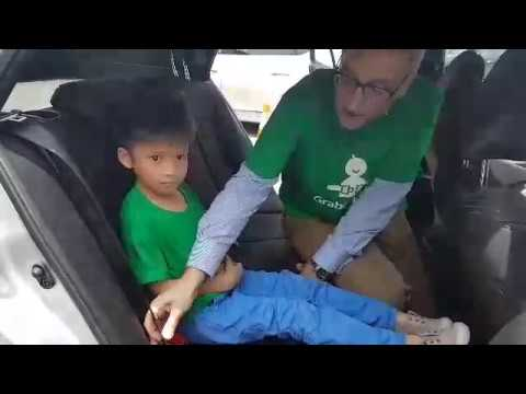 Grab-and-Go booster seat for children
