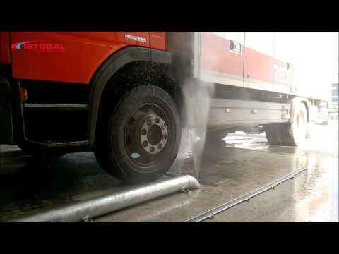 ISTOBAL`s Truck Wash Equipment Integrates Underchassis Wash