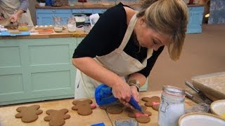 Baking 'Mary Berry' gingerbread men - The Great Sport Relief Bake Off: Episode 2 Preview - BBC Two