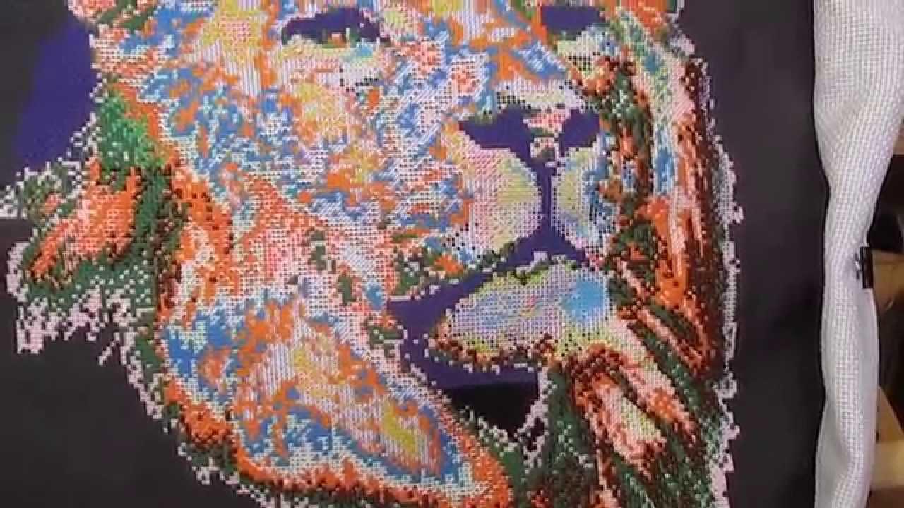 Вышивка шелковыми нитками алиэкспресс