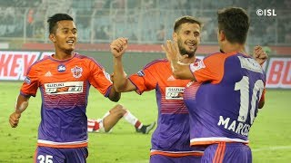 ISL Highlights - ATK vs FC Pune City - Pune thrash ATK - 26 November