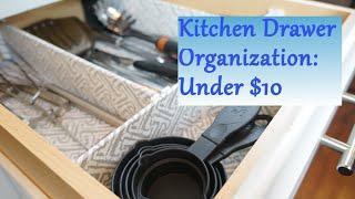 Kitchen Drawer Organization Ideas: For Under 10